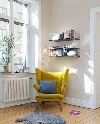 阅读区另类高靠背沙发图片