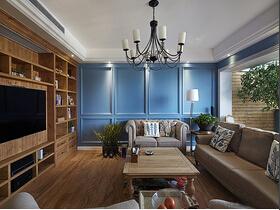 木香与书香浸染空间  这样的美式装修太知性