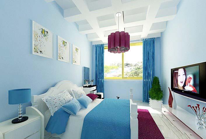 卧室创意吊顶设计装修图片图片