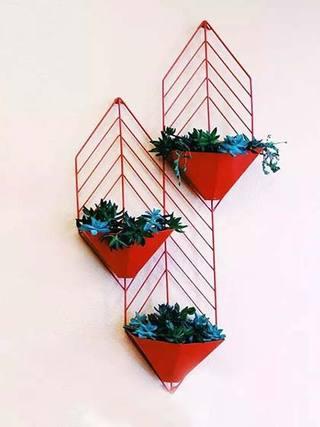 墙壁花篮装修装饰效果图