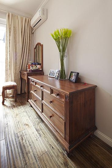 两室两厅美式风格装修收纳柜设计