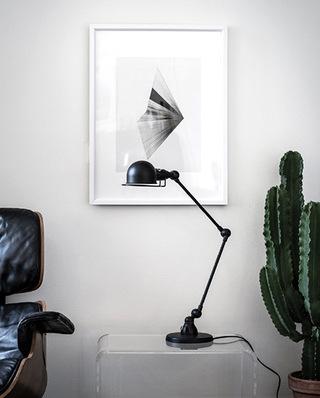 客厅宜家台灯图片