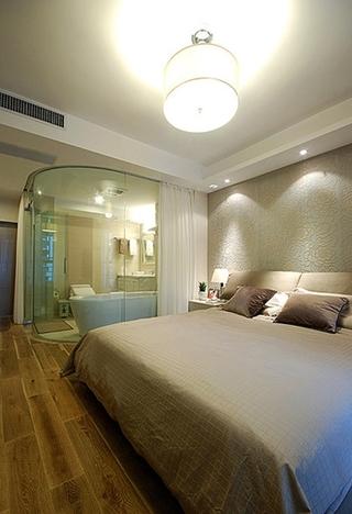现代简约风主卧淋浴房设计