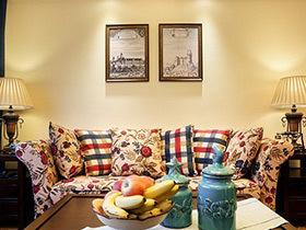 140平美式乡村四房装修效果图 温馨复古