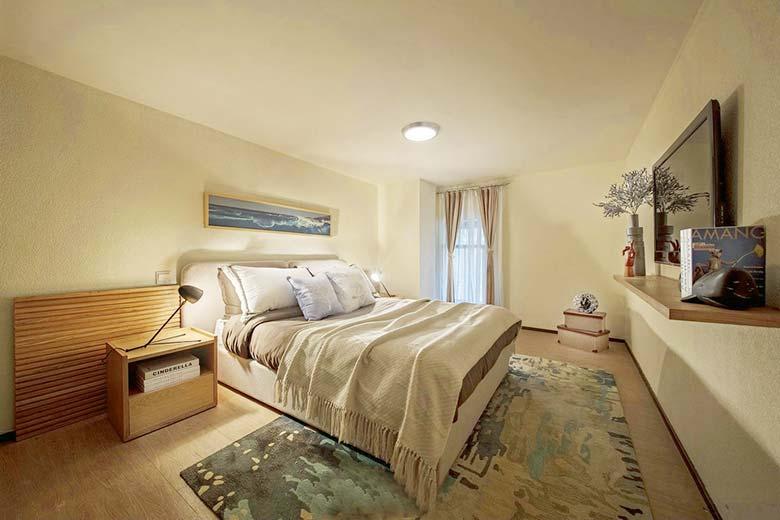 温馨浪漫北欧风 卧室装饰效果图