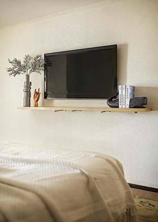 北欧风格复式卧室实景图