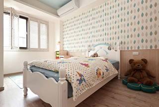 美式乡村儿童房装修效果图