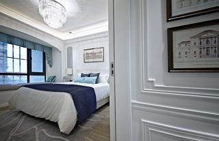 欧式四房装修效果图卧室设计