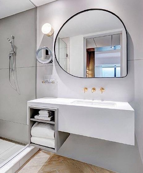 现代简约卫生间装修装饰效果图