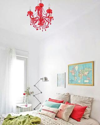 60平米小公寓主卧室效果图