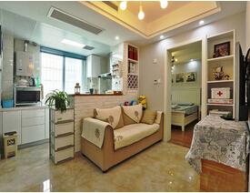 60平小户型两室两厅装修  挑战空间新极限