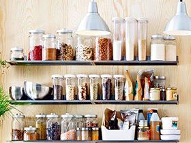 10个厨房效果图收纳设计 食物健康收纳法