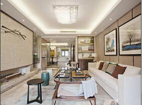有钱就装一个有品味的家 中式公寓非常精致