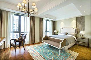 美式两居室装修卧室图片大全