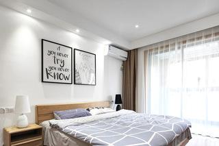 120平米混搭三居室主卧室装修