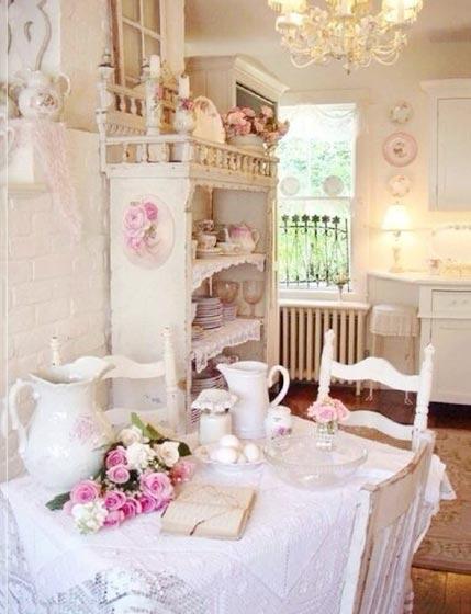 粉色女孩卧室设计图片