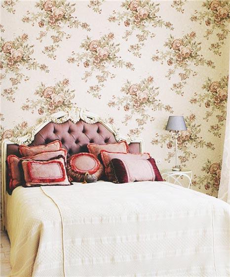 卧室床头背景装修效果图