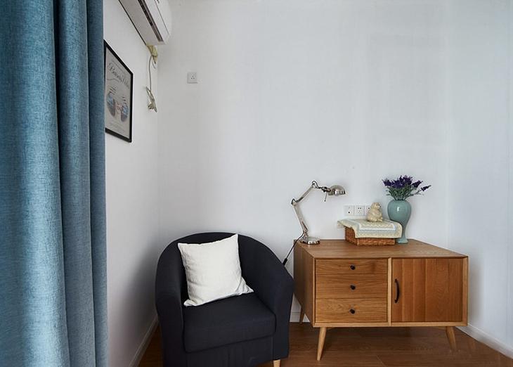 95平宜家风格装修单人沙发