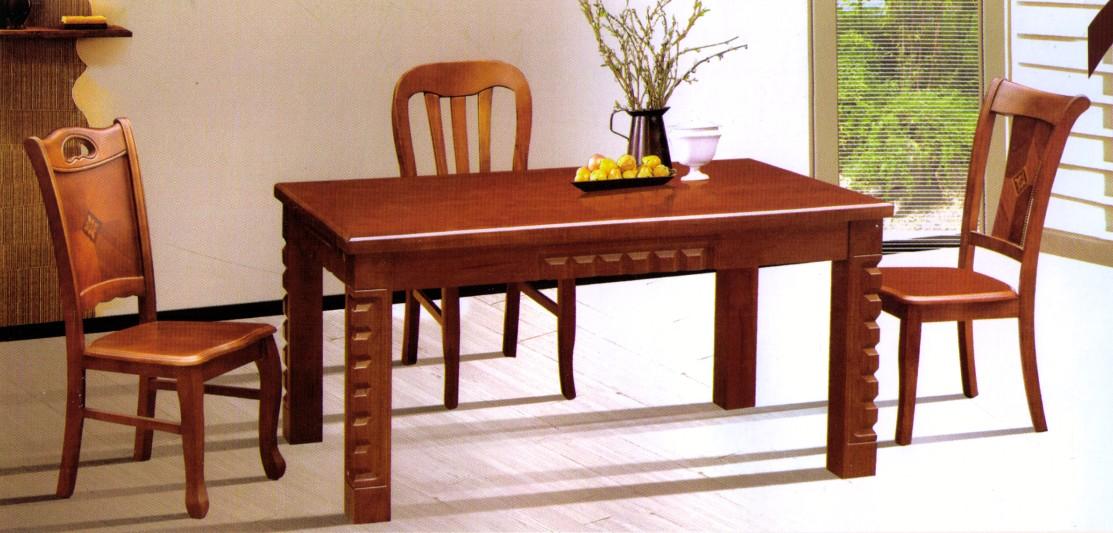 實木餐桌椅