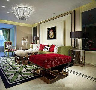 160平米二居室装修装饰效果图