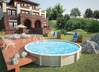 庭院游泳池特色设计图片大全