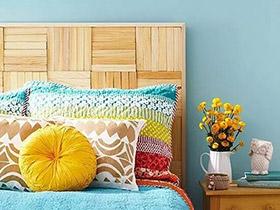 """10个卧室床头设计图片 去访""""变态""""环保家"""