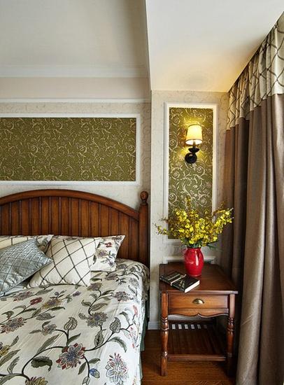 100平魅力简约美式风格装修美式卧室
