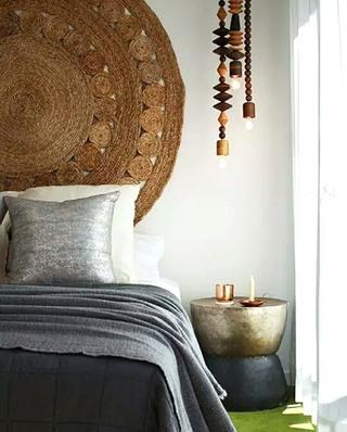 """10个卧室床头设计图片 去访""""变态""""环保家9/10"""