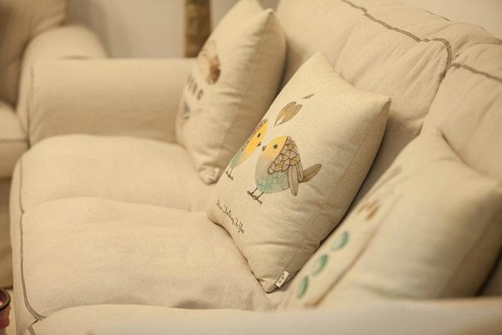 80平小户型装修布艺沙发