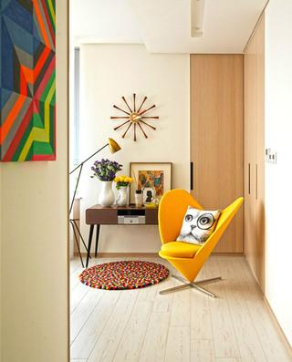 现代简约小别墅休闲椅图片