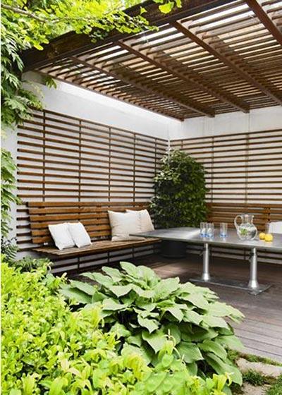 室内花园阳台设计构造图