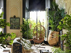 全方位綠色環繞  10個室內花園設計圖片