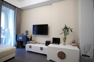 75平小户型装修客厅效果图