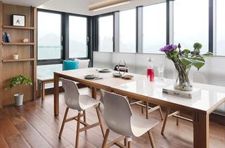130平北欧风格两居室餐厅装潢设计