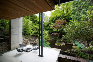静谧日式风格庭院设计