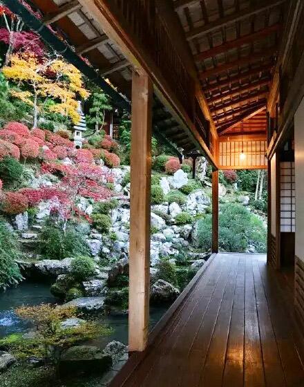 日式风格庭院效果图2016