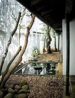 日式风格庭院效果图装修