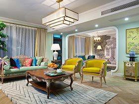 感受色彩的神奇  新古典美式别墅装修