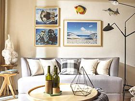 70平北欧风格两室两厅装修 自然素净的温暖