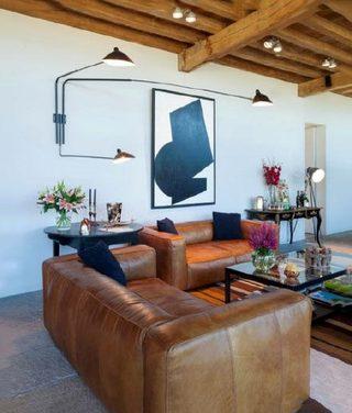 客厅沙发灯饰参考布置图