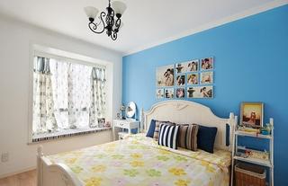 清新地中海装修卧室设计