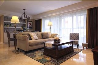 雅致美式风格装修美式客厅