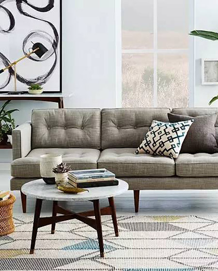 客厅沙发布置效果图装修