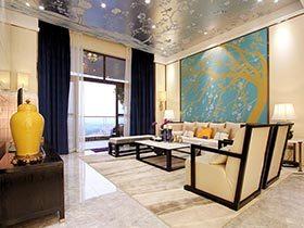 新中式别墅装修 很气派的空间