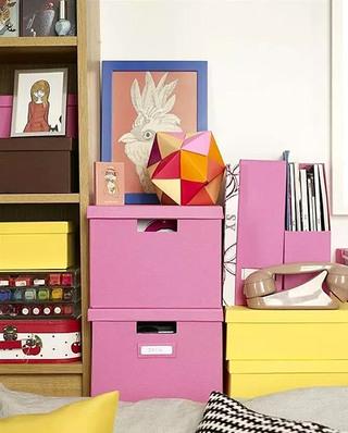 35平一居室收纳架效果图装修