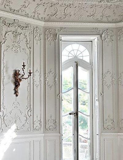 墙壁雕花设计窗框设计图