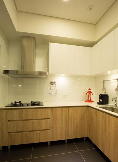 厨房台面装修设计实景图