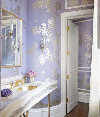 卫生间壁纸装修效果图