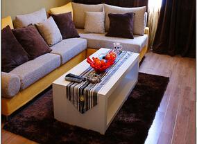 复古简欧混搭风小公寓 鲜亮的色彩让空间惊艳起来