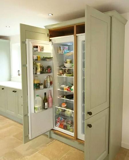 创意橱柜冰箱装修图